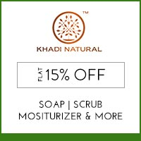 Khadi Natural Flat 15% off