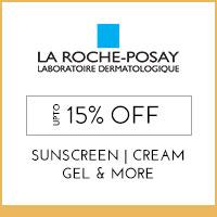 La Roche-Posay upto 15% off