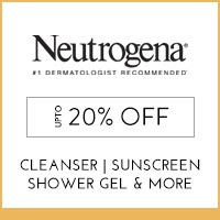 Neutrogena Upto 20% off