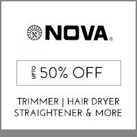 Nova Up to 50% off