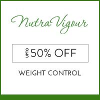 NutraVigour upto 50% off