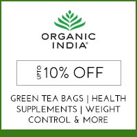 Organic India Upto 10% off
