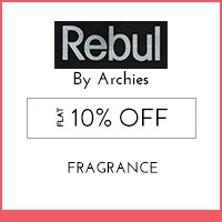 Rebul by Archies Flat 10% off
