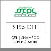SSCPL Herbals Flat 15% off