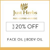 Just Herbs Flat 20%