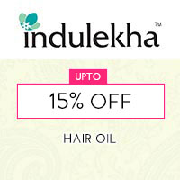 Get Online Offers on Indulekha Products Flat 15%