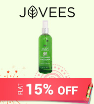 Get Online Offers on Jovees Products FLAT 15% off