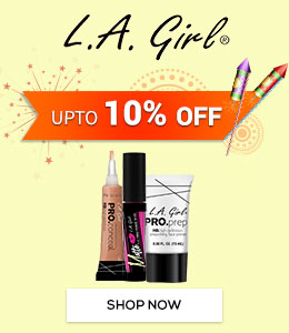 Get Online Offers on L.A. Girl Products Upto 10% off