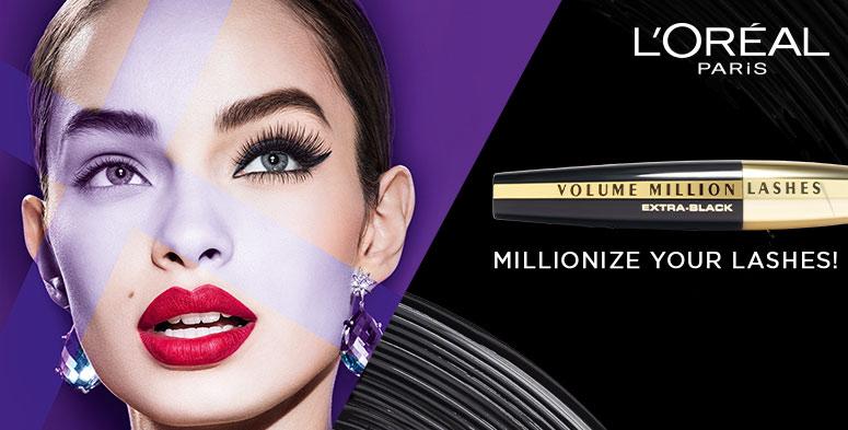54fe41d1524 L'Oreal Paris Mascara - Buy L'Oreal Paris Volume Million Lashes ...