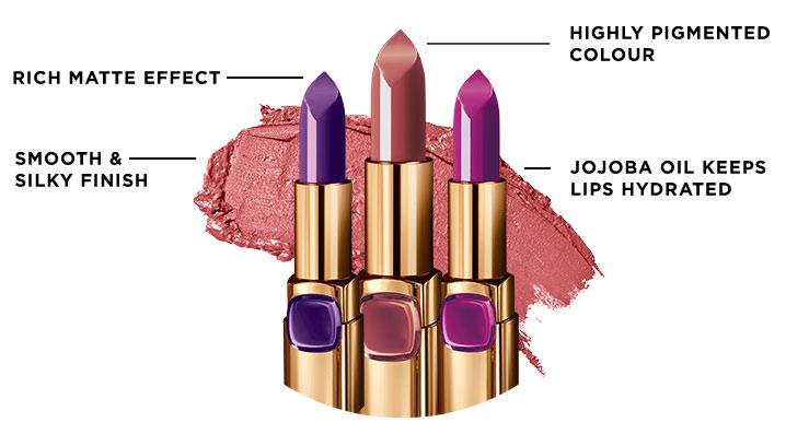 Buy Loreal Paris Color Riche Moist Matte Lipstick Online In India