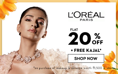 LOreal Paris Upto 30% Off