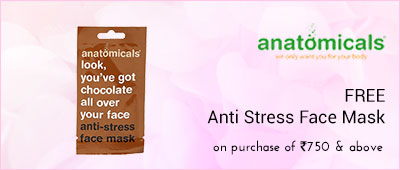 Anatomicals Free anti stress face mask on purchase of Rs1200 and above