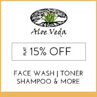 Aloe Veda Flat 15% Off