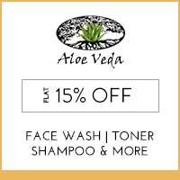 Aloe Veda Flat 15% Off