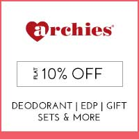 Archies Flat 10% off
