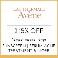 Avene Flat 15% off* except medical range