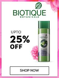 Biotique Upto 25% off