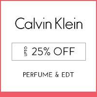 Calvin Klein upto 25% off