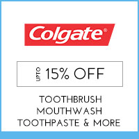 Colgate Upto 15% off