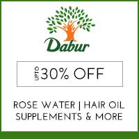 Dabur Upto 30% off