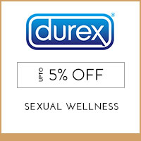 Durex Upto 5% off