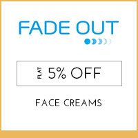 Fade out Flat 5% off