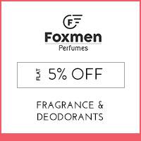 Foxmen Flat 5% off