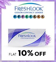 FreshLook Flat 10%