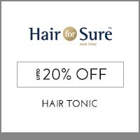 Hair For Sure Upto 20% off