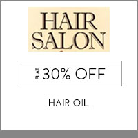 Hair Salon Flat 30% off