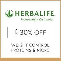 Herbalife Upto 30% off