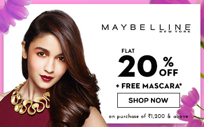 Maybelline New York Upto 30% Off