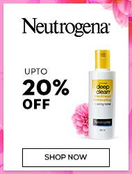 Neutrogena Upto 20% off