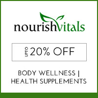 Nourish Vitals Upto 20% off