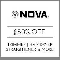 Nova Up to 50% off