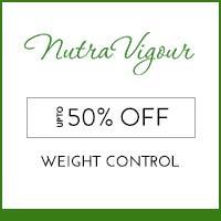 NutraVigour upto 50% off