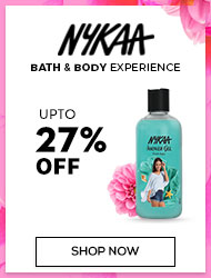 Nykaa Bath&Body Upto 27% off