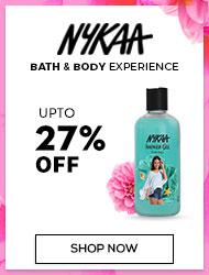 Nykaa Bath&Body Upto 27% off