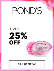 Ponds Upto 25% off
