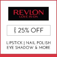 Revlon Upto 25% off