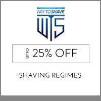 Waytoshave Up to 25% off