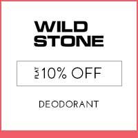 Wild Stone Flat 10% off