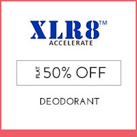 XLR8 Flat 50% off