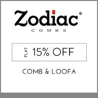 Zodiac Flat 15% off
