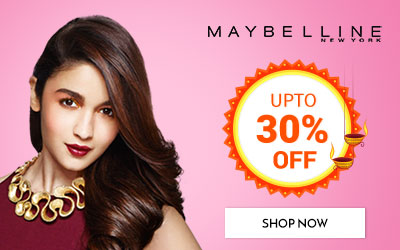 Get Online Offers on Maybelline New York Products Upto 30% off