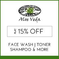 Aloe VedaFlat 15%