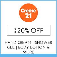 Creme21Flat 20%