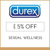 Durex Upto 5%