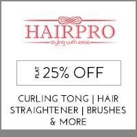 HairProFlat 25% off