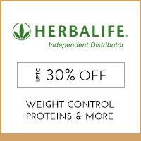 HerbalifeUpto 30%